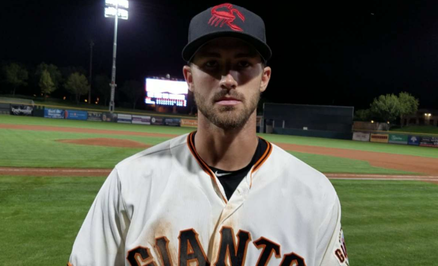 Now Playing Center Field for the Giants in 2018: Steven Duggar