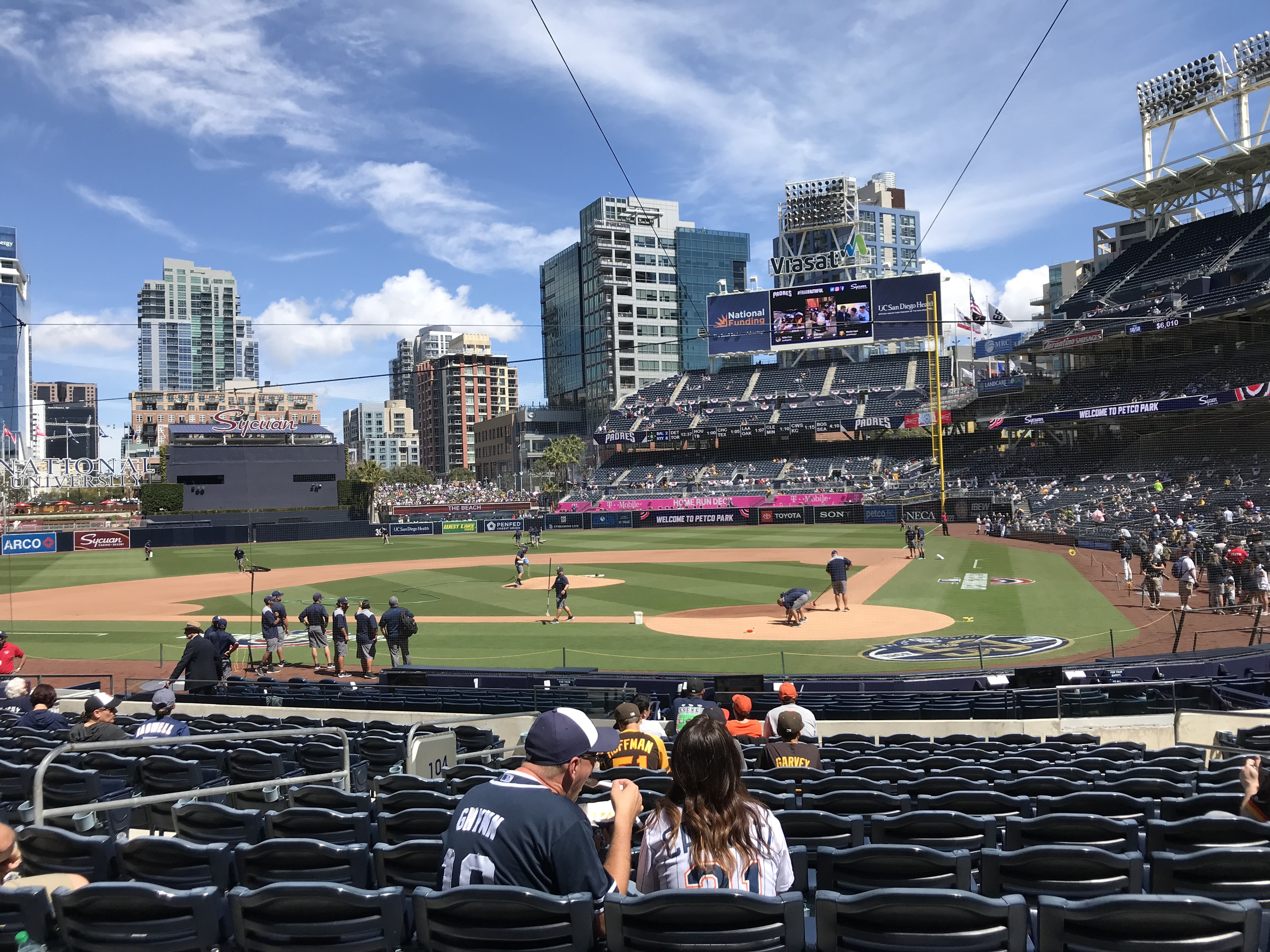 Opening Day Report (Card): F is for Farhan