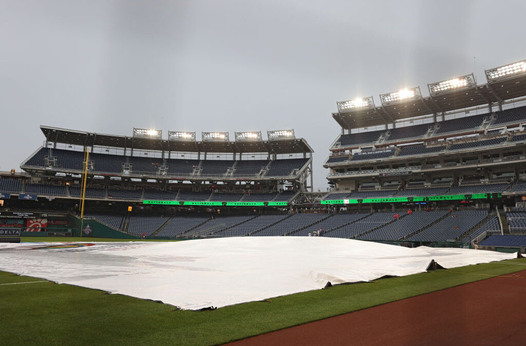 Giants-Nationals Postponed, Let's Play Two Saturday!