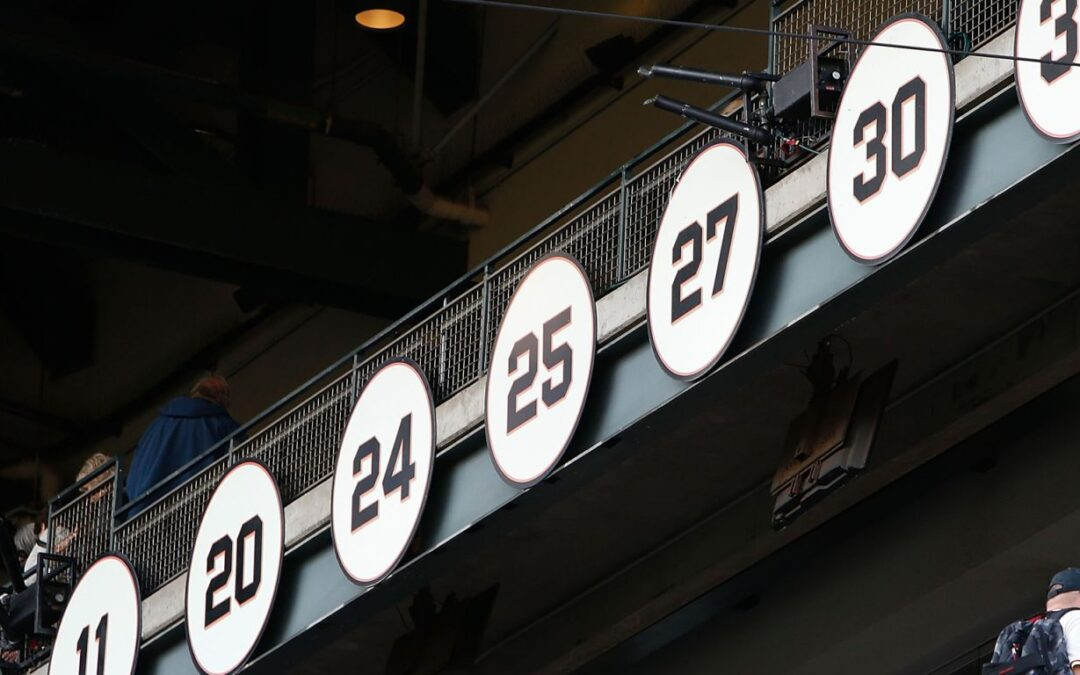 Giants Retired Numbers, A History